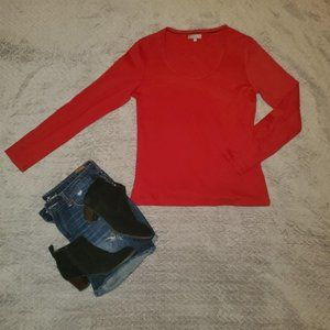 🐥3/$60🐥 Lord & Taylor long sleeved top! Size:M